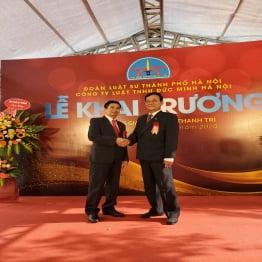 Chính thức khai trương Văn phòng giao dịch Công ty Luật TNHH Đức Minh Hà Nội tại Thanh Trì